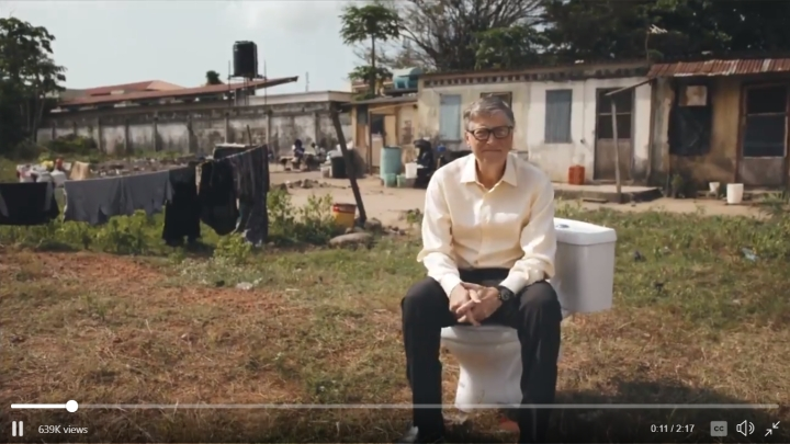Bill Gates Plays Poop Scooper; Invites Sanitation Solutions To Help 4.5 Billion People