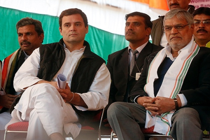 Dharma Or Drama? Rahul Gandhi Criticises Party Leader CP Joshi On Twitter For Casteist Remarks Against Modi, Uma Bharti