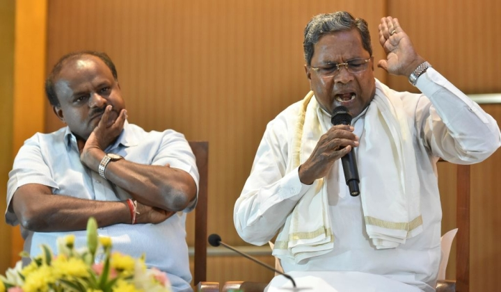 Lack Lustre Tipu Jayanti Leaves A Bitter Taste: An Irked Siddaramaiah Targets Coalition Partners In A Tweet