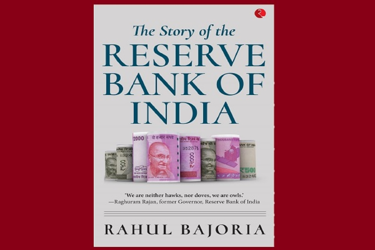 Book Cover of 'The Story Of The Reserve Bank of India'