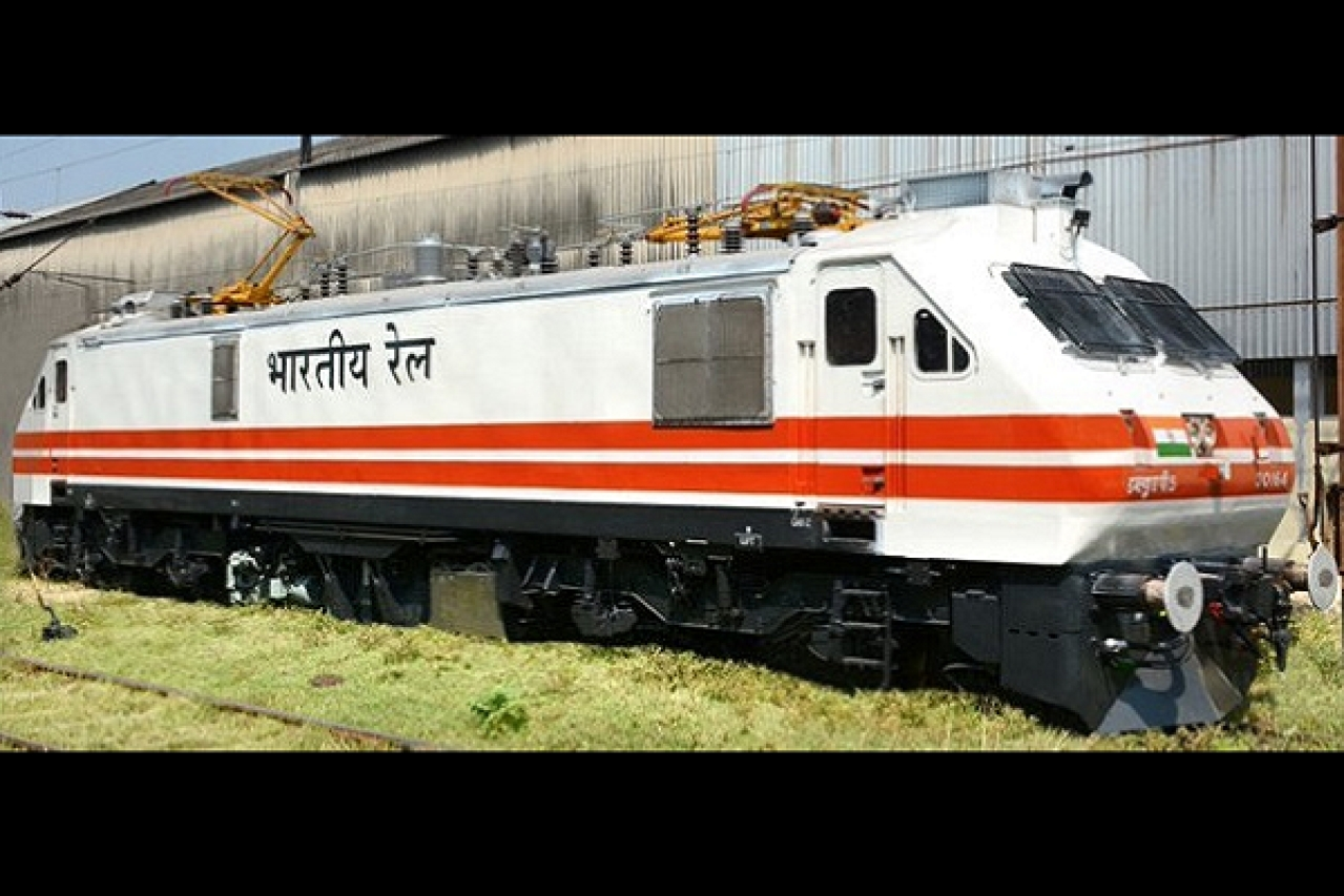 'Make In India' Delivers Again: Railways Gets First Homegrown Aerodynamic Electric Locomotive That Clocks 200 Kmph