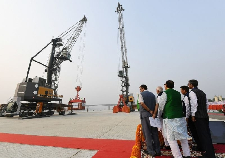 First Multi-Modal Terminal Constructed On River Ganga Inaugurated By PM