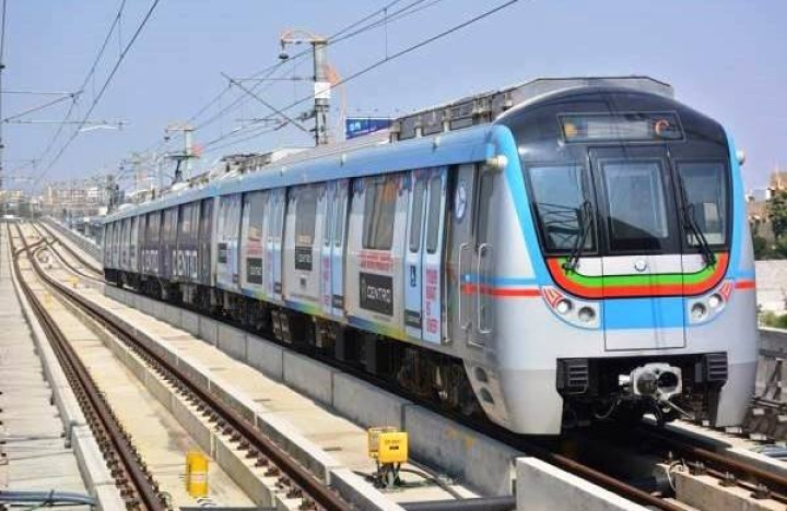 On Its First Anniversary, Hyderabad Metro Starts Trial Runs On Ameerpet-Hi Tech City Stretch