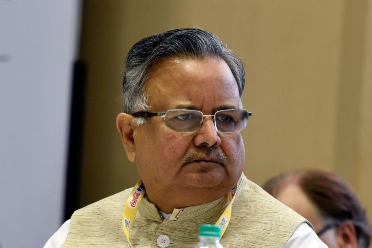 Chhattisgarh Chief Minister Raman Singh. (Mohd Zakir/Hindustan Times via Getty Images)