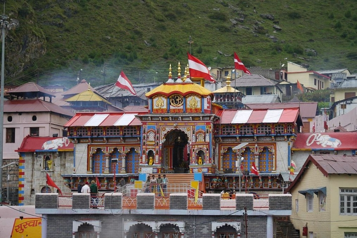 Portals of Shri Badrinath Temple Closed  For Winter Season