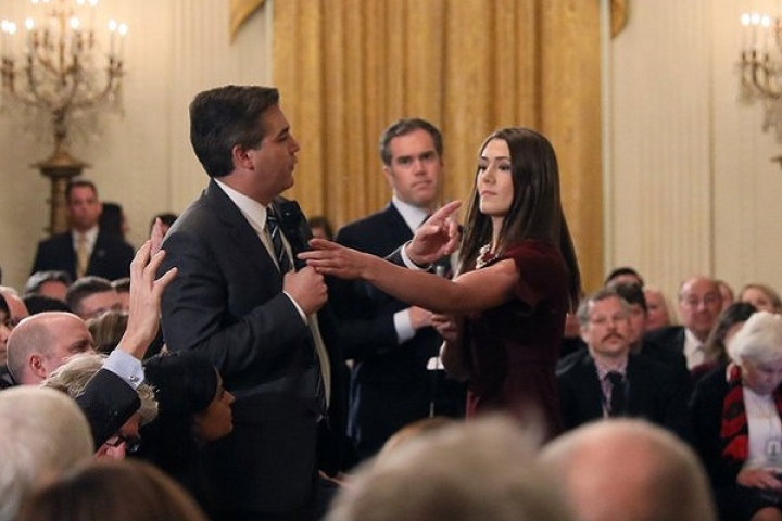 White House Revokes CNN Journalist Jim Acosta's Pass, Cites 'Placing Hands On Woman Intern' As Reason
