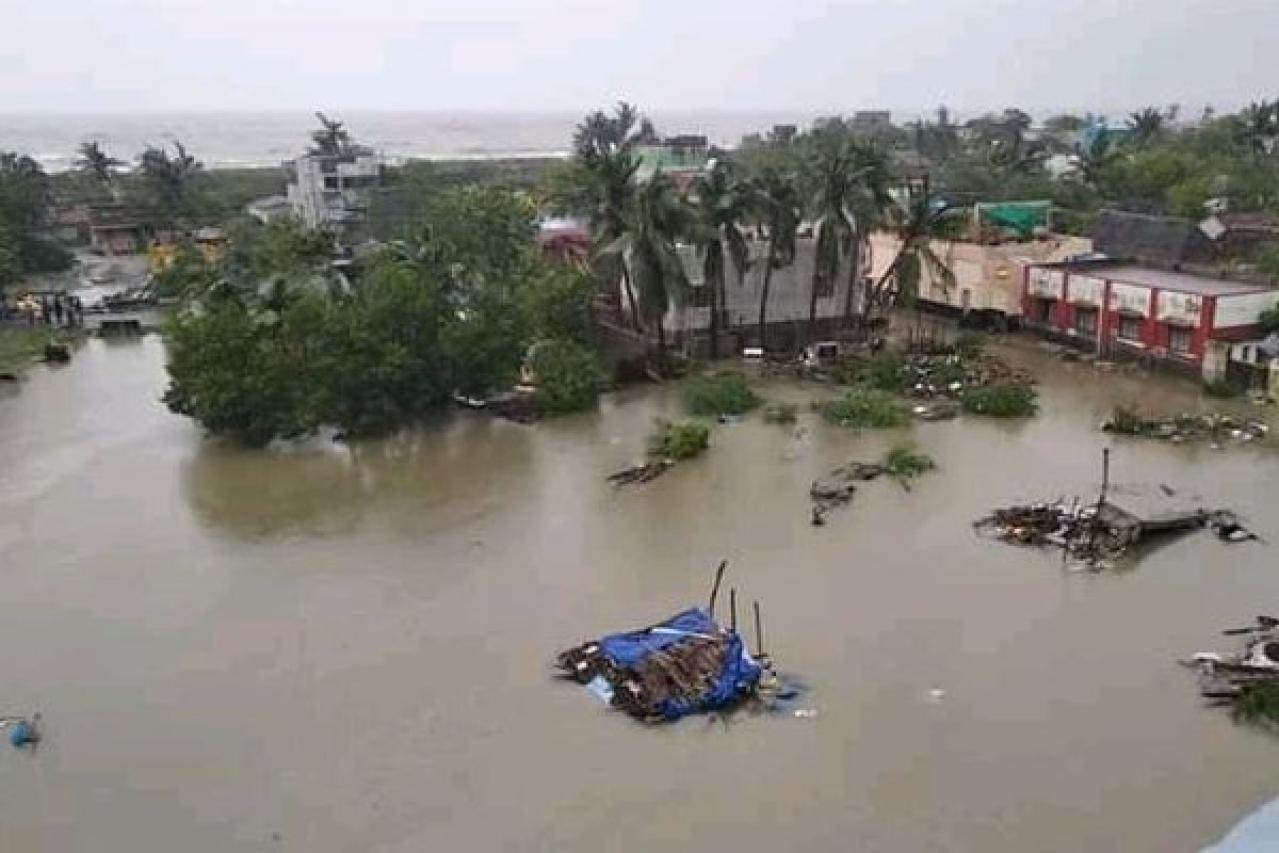 Image result for gaja flood