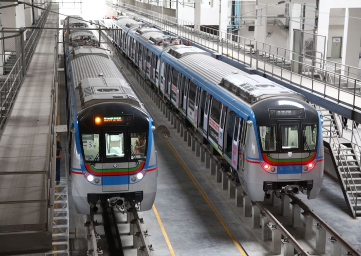 Hyderabad Metro To Begin Operations On Jubliee Bus Station-Mahatma Gandhi Bus Station Route By October