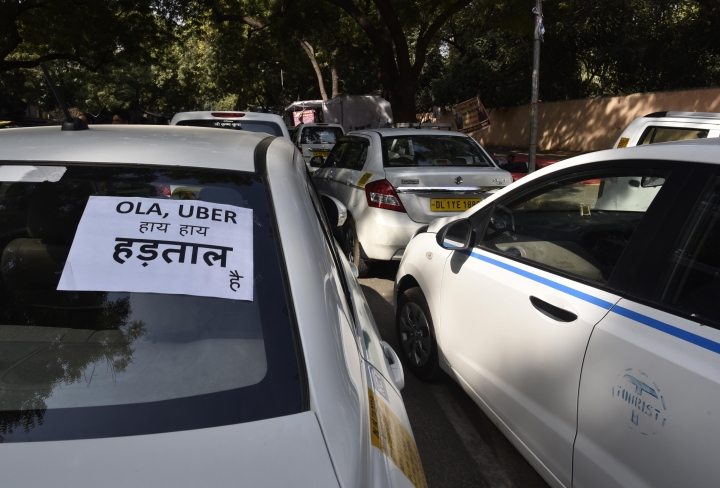 Mumbai Cab Strike: 40 Per Cent Cabs Stay Off Roads, Protestors Booked By Police As City Grapples With Fare Surge