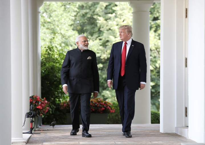 New Delhi's Washington Tilt