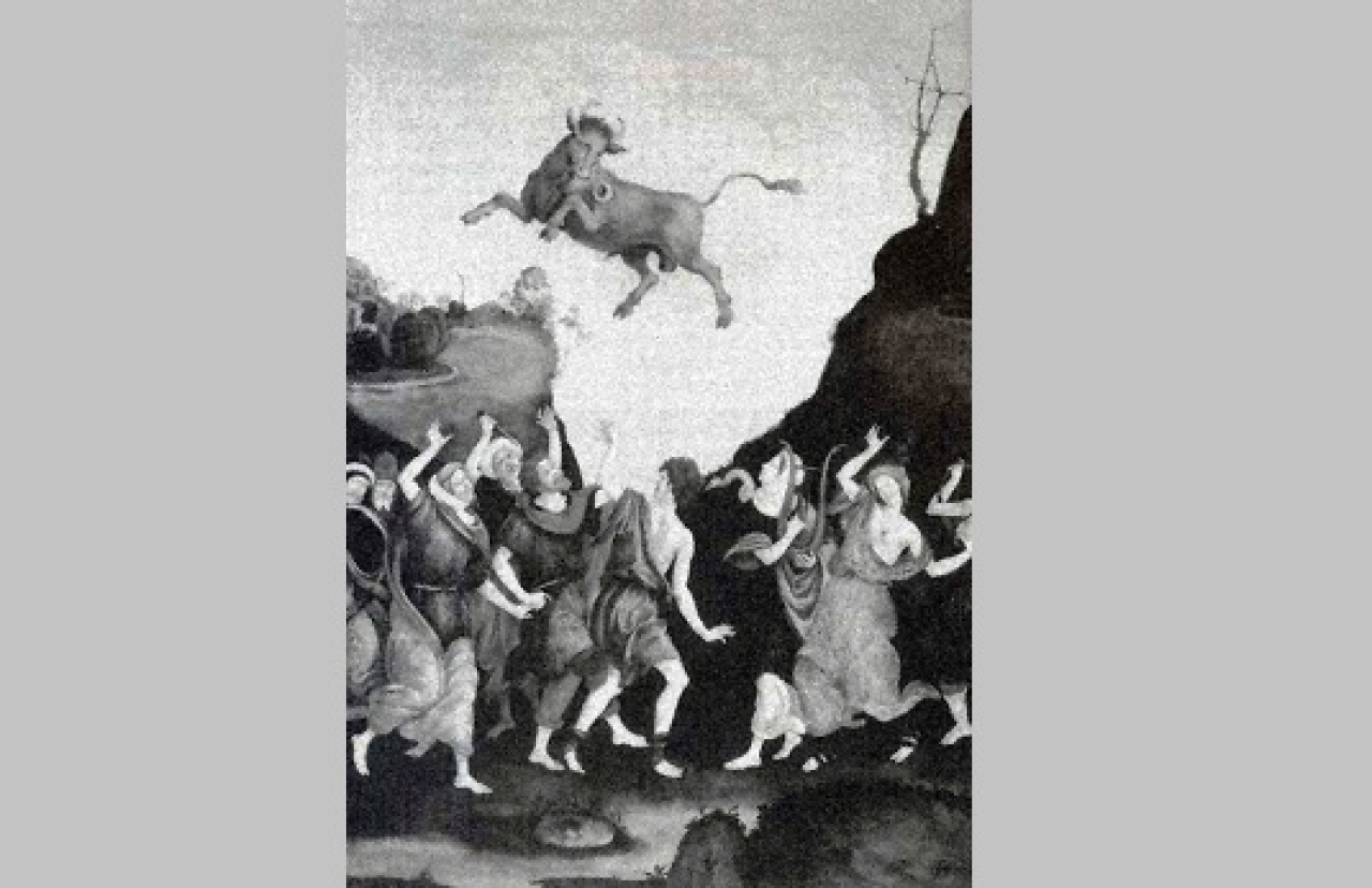 In the story of the 'Sin of the Golden Calf' found in the Old Testament, we learn how Moses punished the Israelites for worshipping the idol of a golden calf.