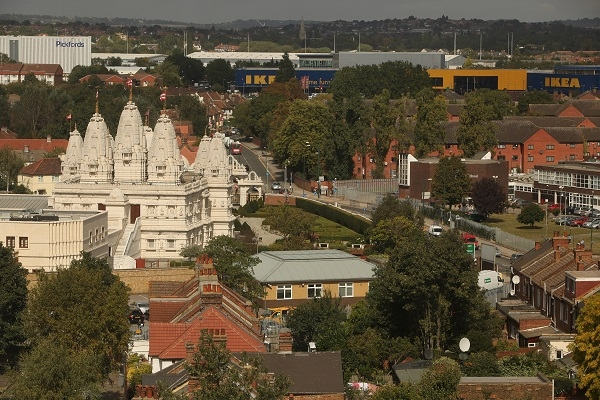 London: Over Four Decade Old Krishna Idols Stolen From Swaminarayan Temple Few Hours After Diwali Celebrations