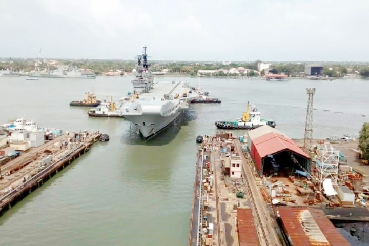 India's Largest Dry Dock Takes Shape: Foundation Stone Laid At Cochin Shipyard By Union Minister Nitin Gadkari