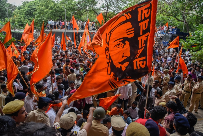 General Category Students Protest Maharashtra Govt's Decision To Issue Ordinance On Maratha Quota For PG Medical Seats