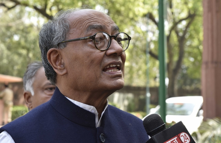 Digvijay Singh Stirs Fresh Controversy, Says People In Saffron Robes Committing Rapes Inside Temples