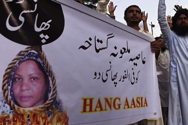 Christian Asia Bibi Seeks Political Asylum In France For Her And Family, After Escaping 'Death-For-Blasphemy' In Pakistan