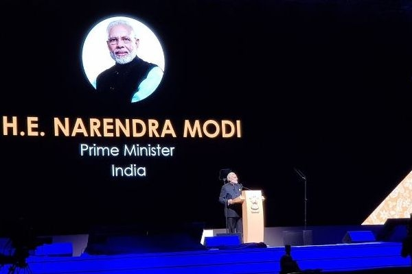 PM Modi Makes A Strong Pitch For India At Singapore Fintech Festival