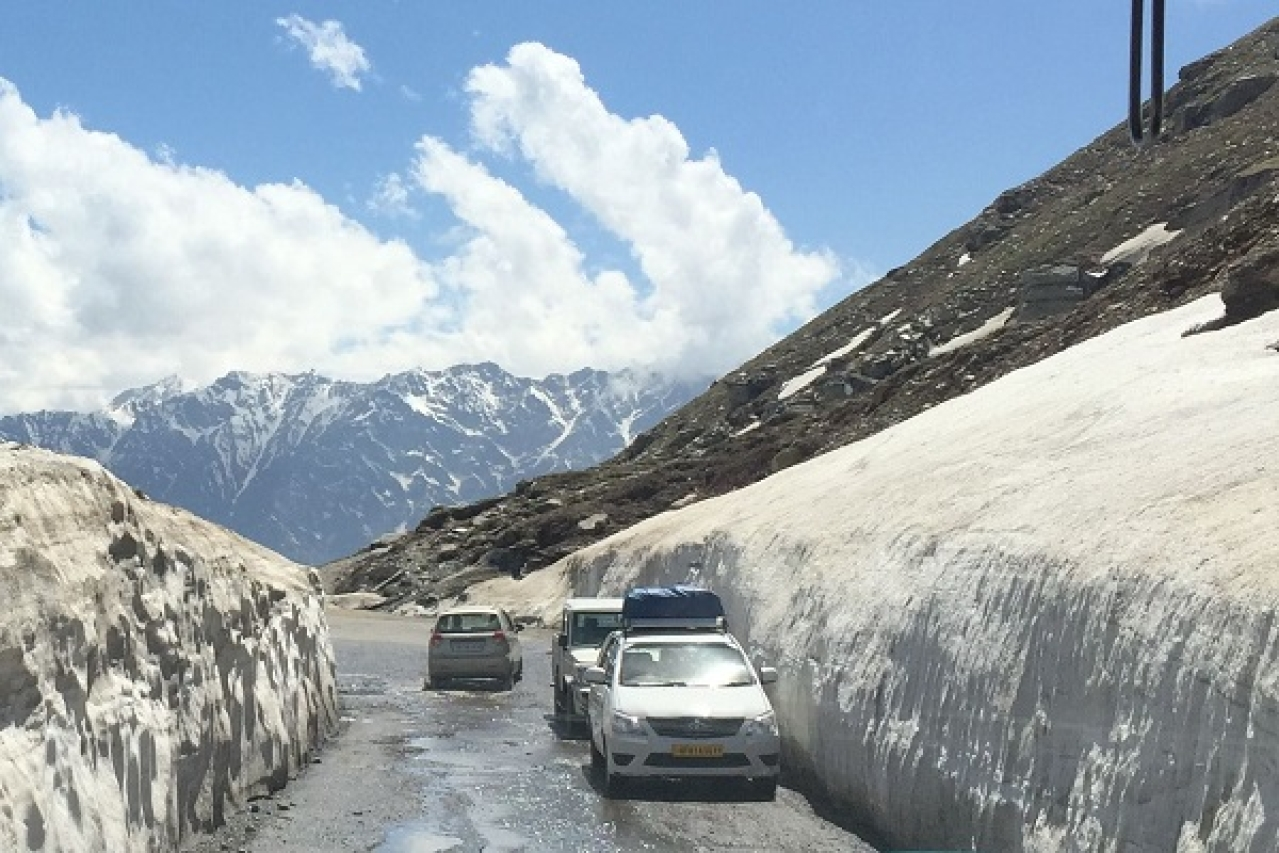 Himachal Pradesh: Rohtang Set To Get Automatic Weather ... |Rohtang Pass Weather