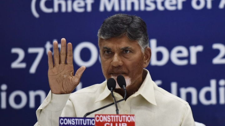 Chandrababu Naidu Starts Dharna Politics Days After Meeting Mamata; To Fast For Special Status For Andhra