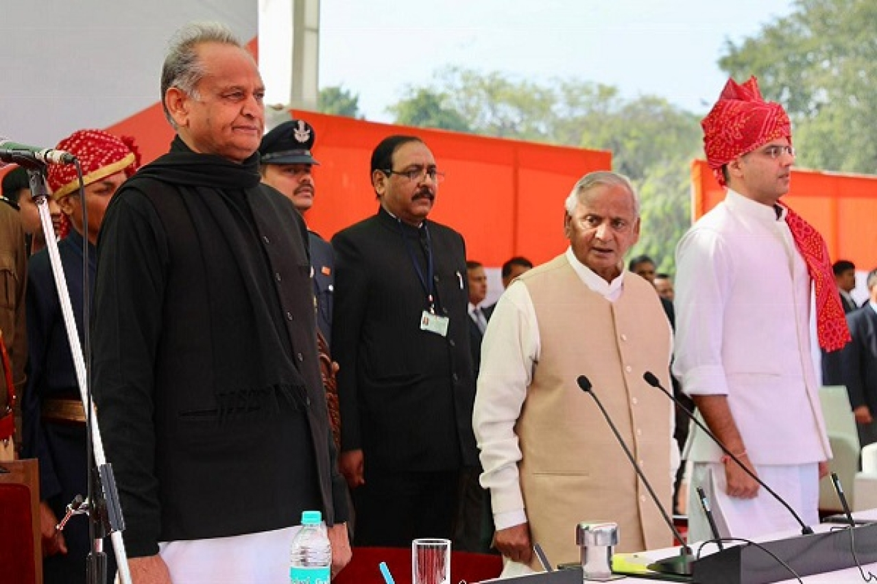 Gehlot Draws Congress Leaders' Ire For Overlooking Party Interest, Focusing On His Son During LS Polls