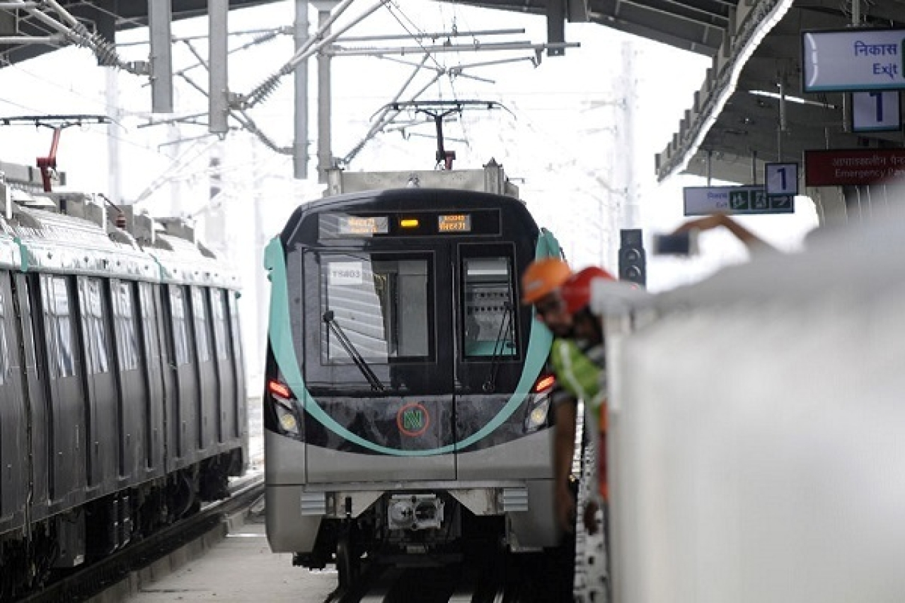 Noida Metro's Aqua Line's To Soon Start Operations: NMRC Gets Safety Clearance For Route Connecting Greater Noida