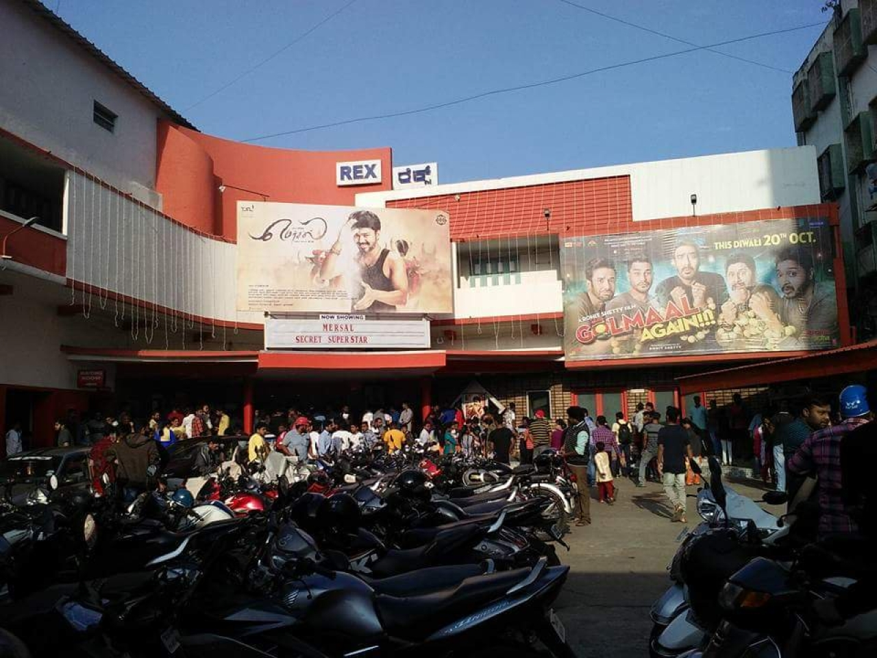 Image result for latest images of Bengaluru's Iconic Rex Cinemas To Make Way For Mall, Multiplex Next Year
