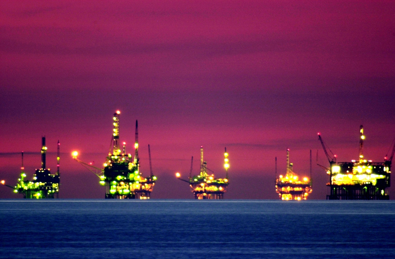 Oil and gas platforms near the Federal Ecological Reserve in the Santa Barbara Channel, California in the US. (representative picture) (David McNew/Getty Images)