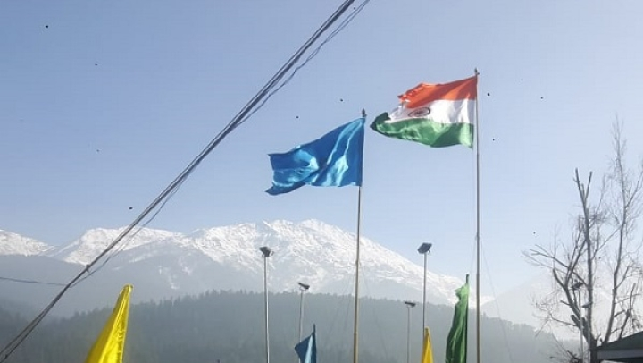 Tricolour Flies High In Kashmir's Pahalgam: CRPF Unfurls 68-Foot Flag To Encourage Nationalism And Promote Tourism