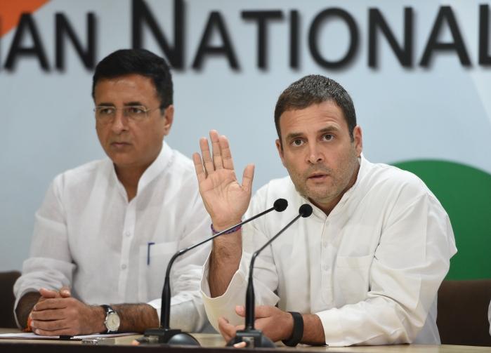 Randeep Surjewala Denies Reports Of Rahul Gandhi Offering To Resign In Congress Working Committee Meeting
