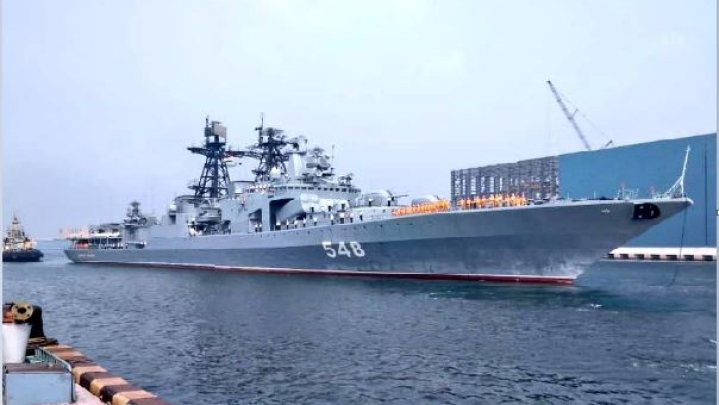 INDRA: The 10th Edition Of India-Russia Naval Exercise Commences In Visakhapatnam