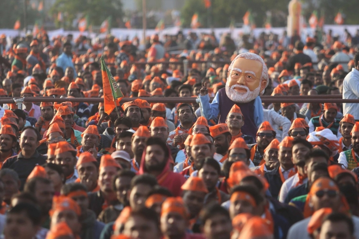 PM Modi's Election Campaign Was Most Extensive In Indian History; Spread Across 142 Rallies Covering 1.5 Lakh Km