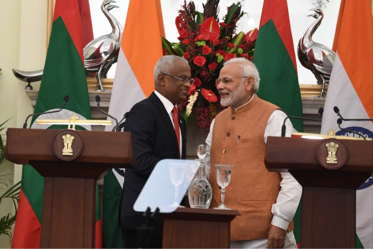 Maldives In Choppy Waters, India To The Rescue: Extends $1.4 Billion Aid During President Solih's First Visit