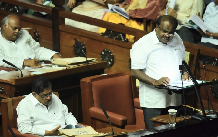Karnataka: After A Wait Of Five Long Days, Trust Vote Finally Begins In State Assembly