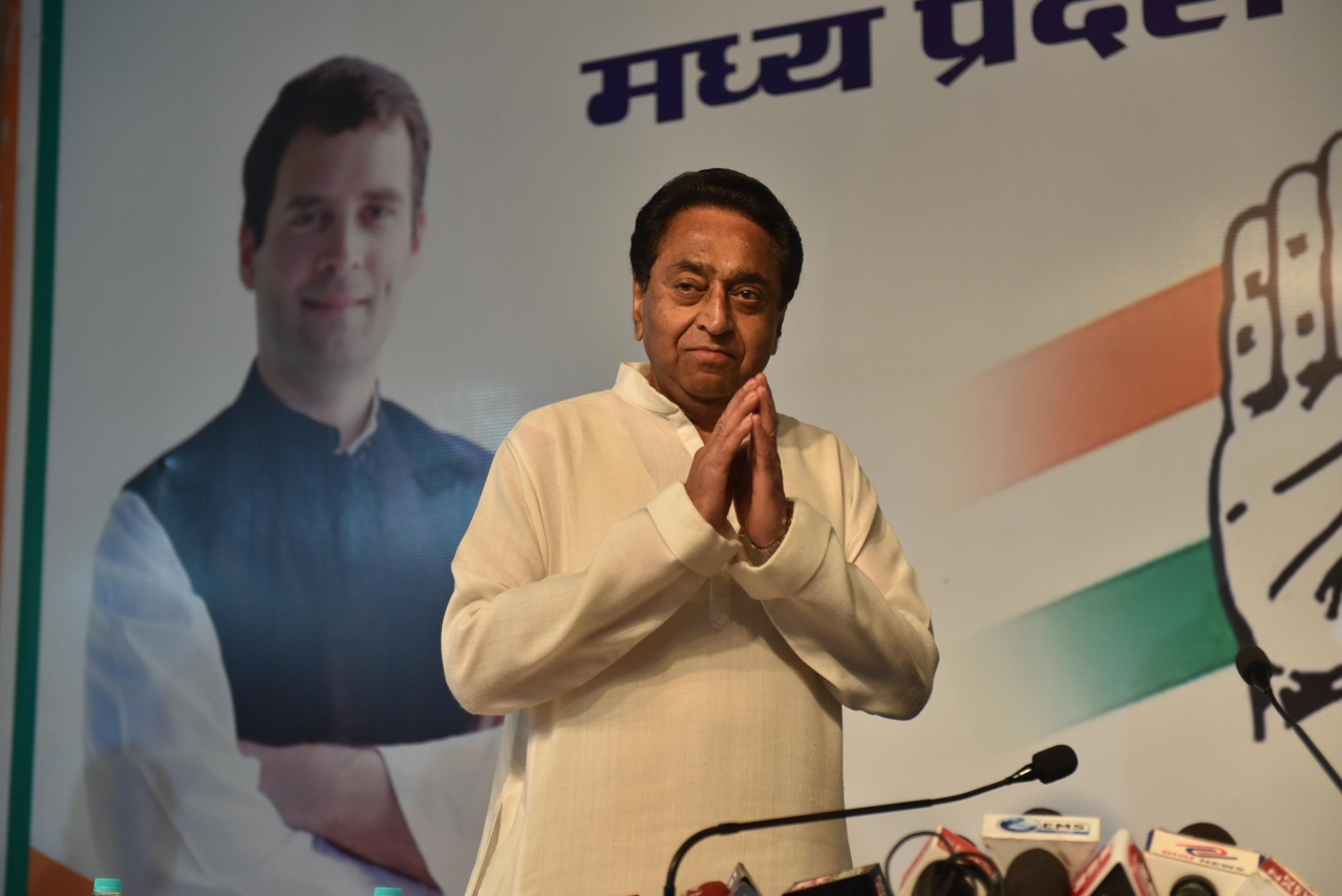 Kamal Nath Offers To Resign As Madhya Pradesh Congress Chief After Party Only Wins One Seat Out Of 29 In State
