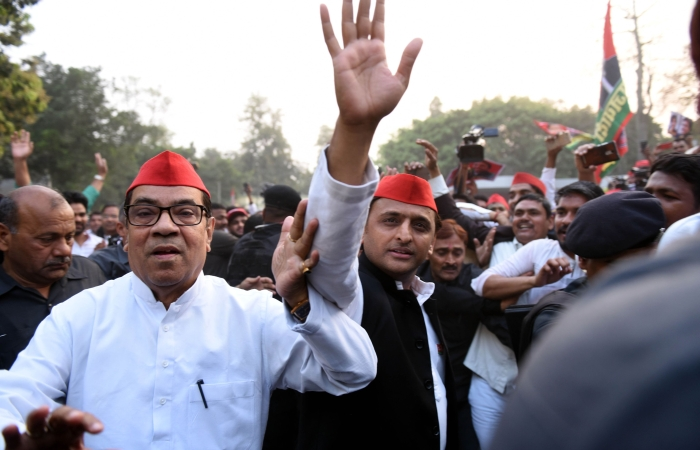 Samajwadi Party Chief And Former UP Chief Minister Akhilesh Yadav Leading In Azamgarh