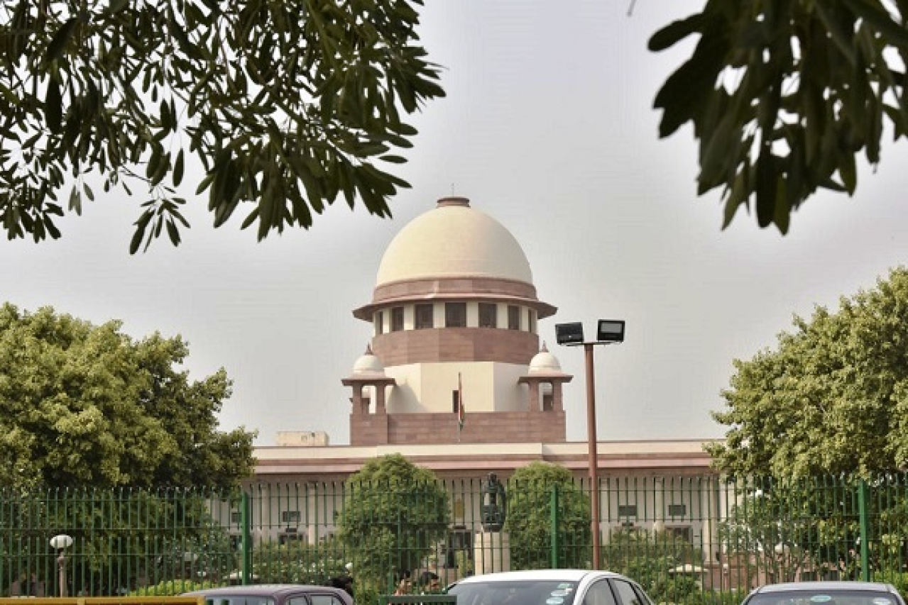 The Supreme Court of India. (Sonu Mehta/Hindustan Times via Getty Images)