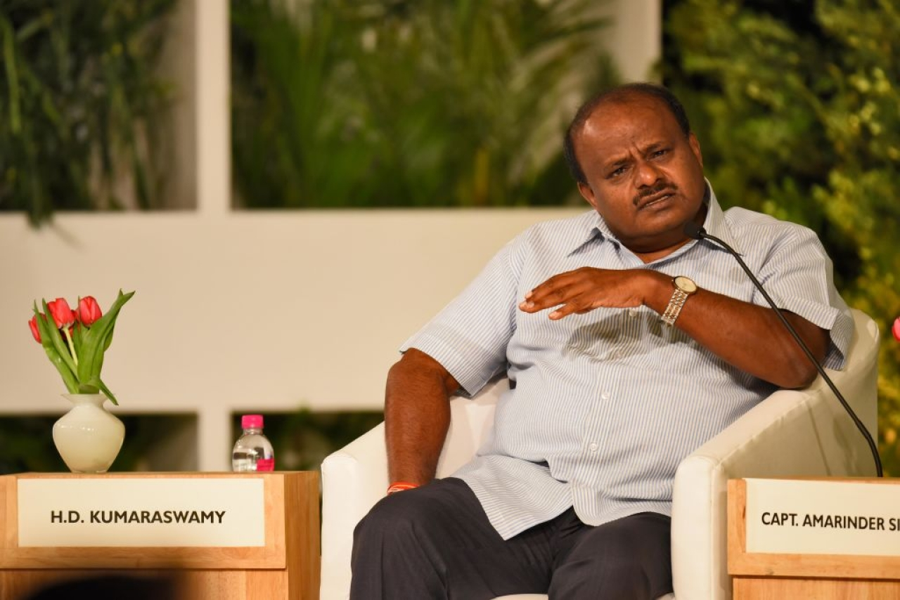 'You Voted For Modi And Want Me To Work For You': Kumaraswamy Caught On Camera Threatening Workers