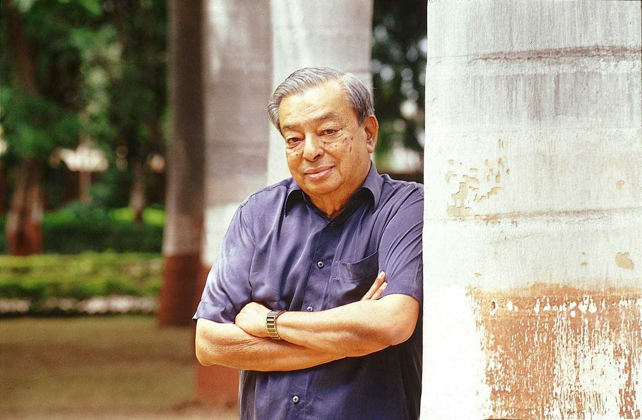 Dr Verghese Kurien. (Vivan Mehra/The India Today Group/GettyImages)