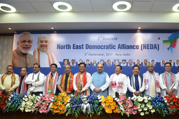 With Congress Banished From The North East In 2018, BJP Needs To Focus On Development