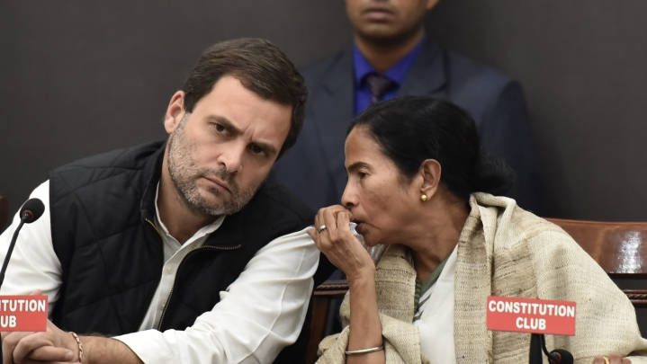 Despite Rahul Gandhi's Open Support For Mamata, Congress' West Bengal Unit Announces Massive Protests Against TMC