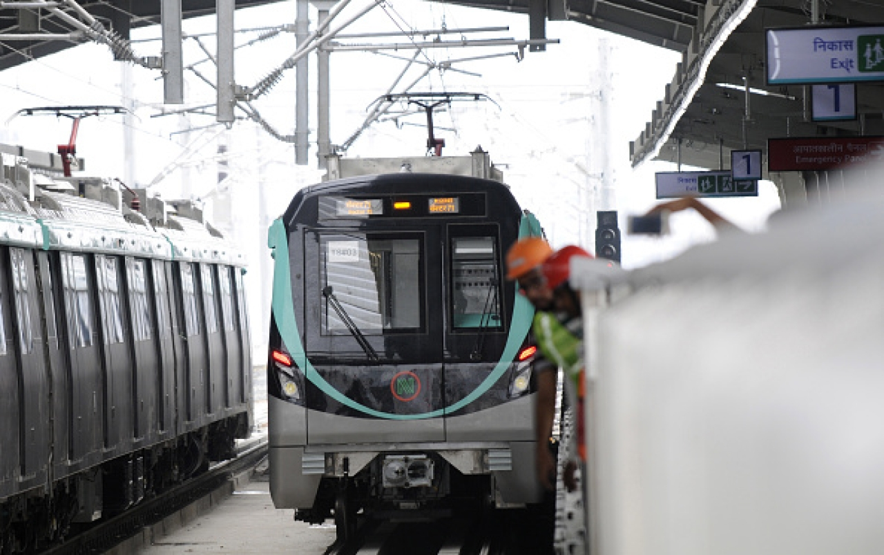 Noida Metro Maintains 99.99 Per Cent Punctuality Since Starting Operations; Ridership Zooms 57 Per Cent
