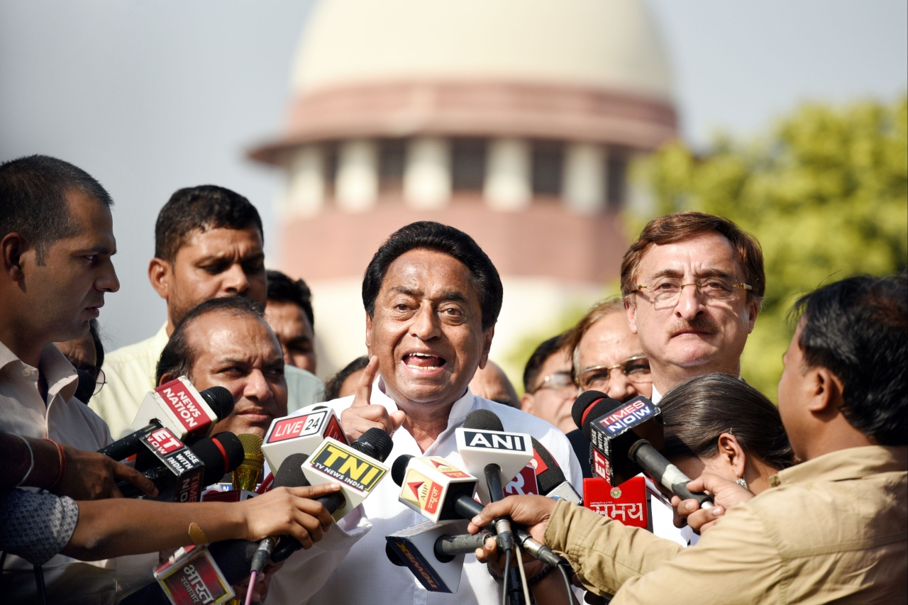 Madhya Pradesh: Jolt To Kamal Nath If Exit Polls Come True, BJP May Win 25+ Seats