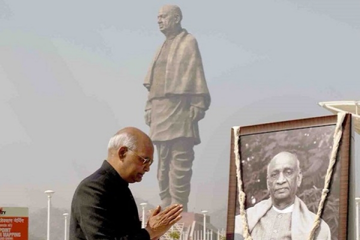 Statue Of Unity To Get Train Connectivity: President Kovind Lays Foundation Stone For Kevadiya Railway Station