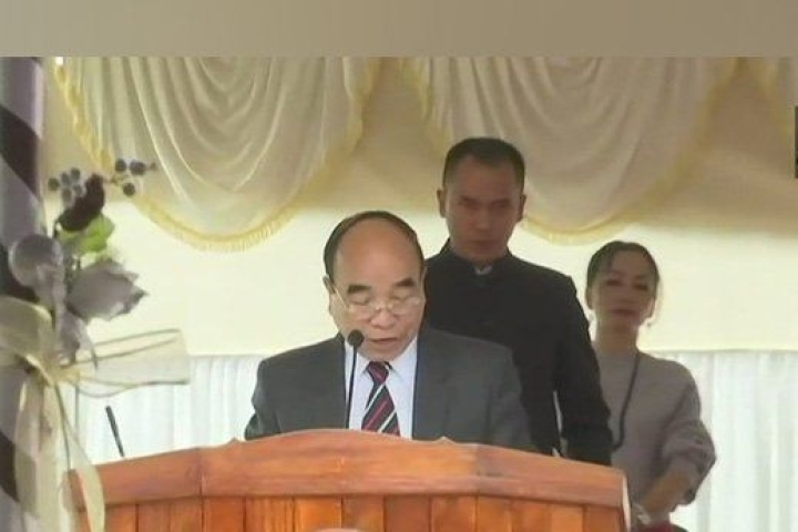 Church State Separation To Church-State? In A First, CM's Oath Taking Ceremony Conducted With Bible Verses In Mizoram