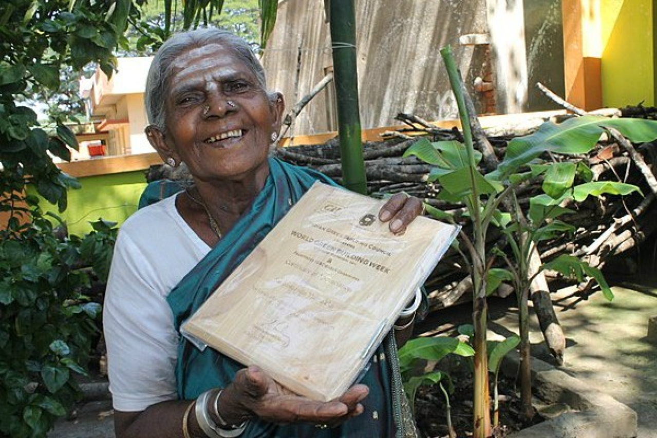 Saalumarada Thimmakka, the great environmentalist of Karnataka.
