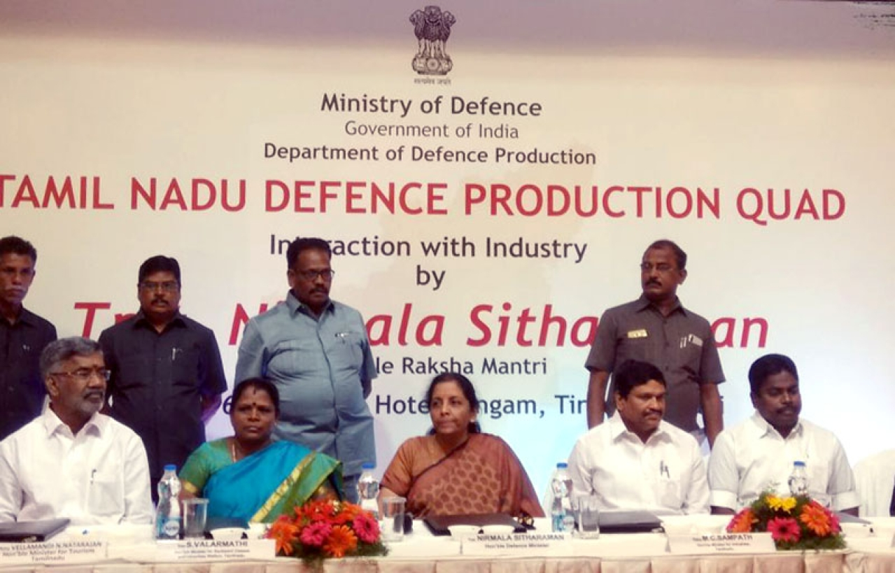Tamil Nadu Defence Corridor To Be Launched Today As State Aims To Emerge As India's Defence Manufacturing Hub