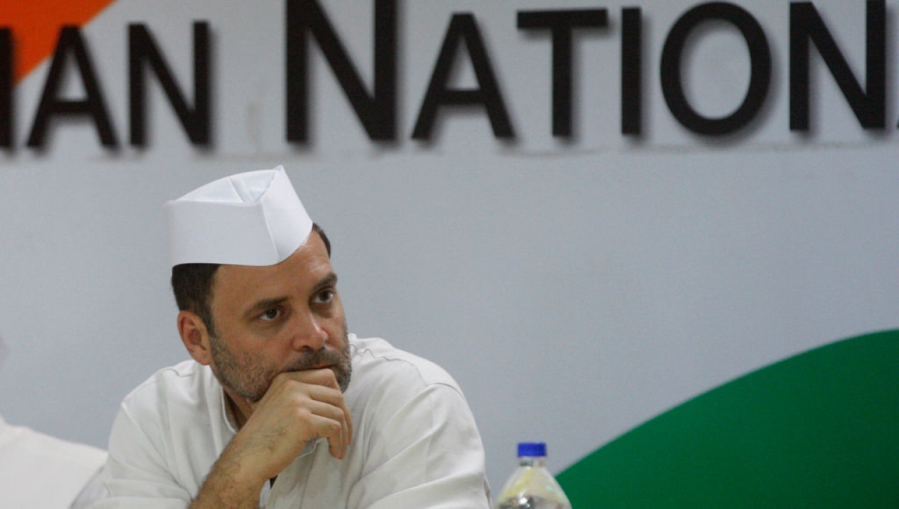 Rahul Gandhi (Qamar Sibtain/India Today Group/Getty Images)