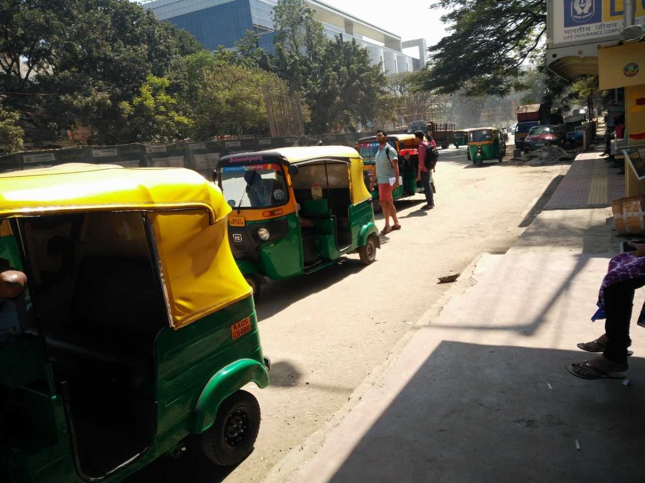Image result for latest images of Auto driver beaten to death 'for taking correct fare' in Karnataka