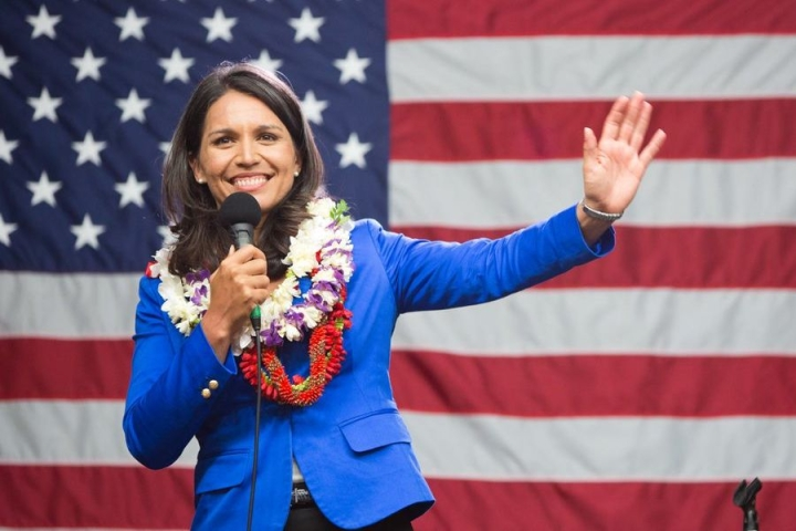 Hindu US Lawmaker Tulsi Gabbard Emerges Big Winner In First Democratic Presidential Debate, Show Polls