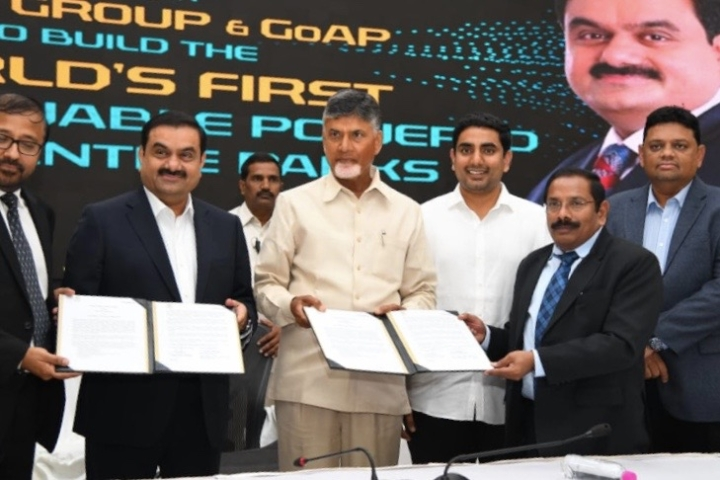Adani Enters Andhra, To Build Data Parks Worth Rs 70,000 Crore In World's First 100 Per Cent Solar Powered Project